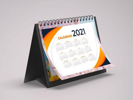 Dé una buena impresión con calendarios personalizados Liagen