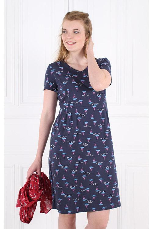 Kleid Melinda von Sorgenfri Farbe : navy