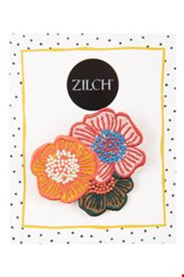 Brosche von Zilch Farbe : Blossom