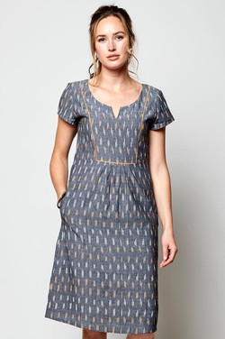 ikat-dress-with-piping-KX2078-Grey-40