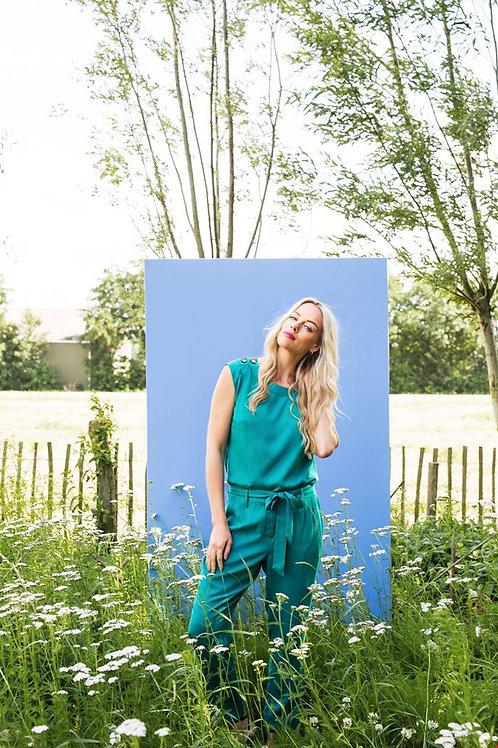 Hose von Zilch Farbe : Emerald
