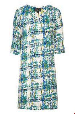 Dress v-neck von Zilch Farbe : Emerald