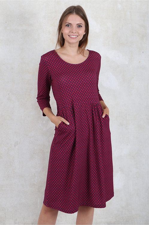 Kleid Sandis von Sorgenfri Farbe : Rubin