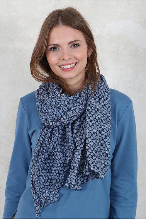 Tuch Nijole von Sorgenfri Farbe: azure