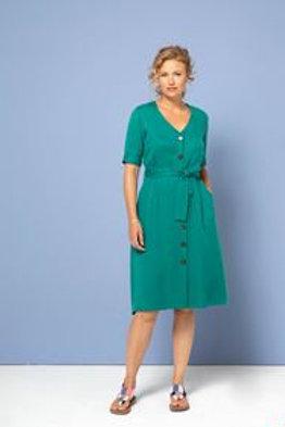Dress buttons von Zilch  emerald grün
