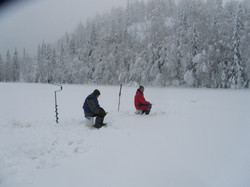 Kokeile pilkkimistä / Ice fishing