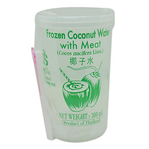 Coconut Water & Meat Cup