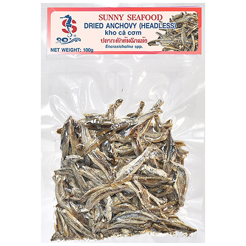 Dried Headless Anchovy