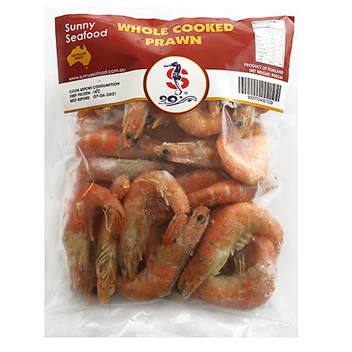 Whole Cooked Prawns