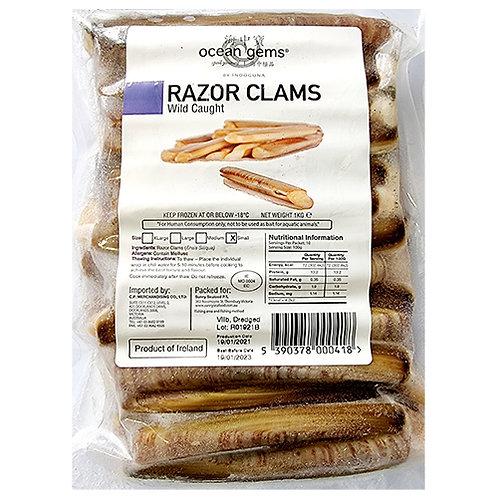 Frozen Razor Clam (L)