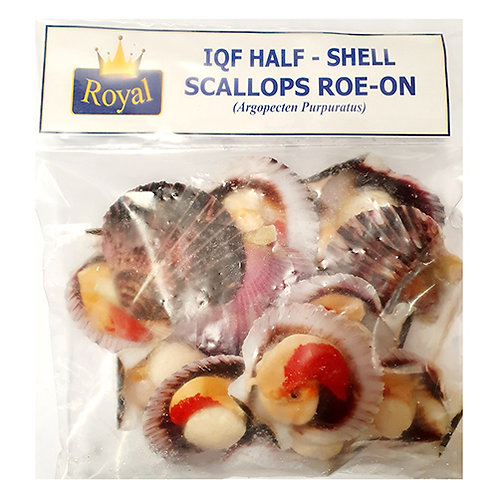 Half Shell Peru Scallops