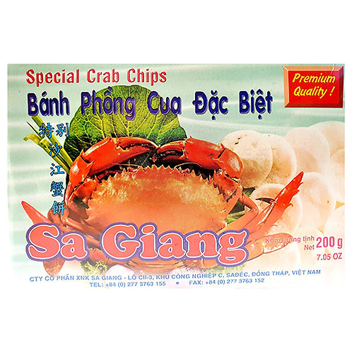 Dried Crab Crackers