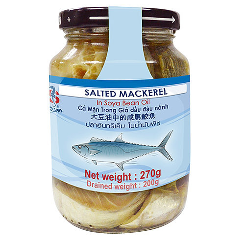 Salted Mackeral in Soy Bean Oil
