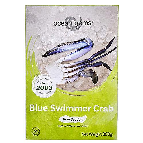 OG Blue Swimmer Half Cut Crab