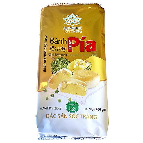 Pia Mung Bean & Durian Cake