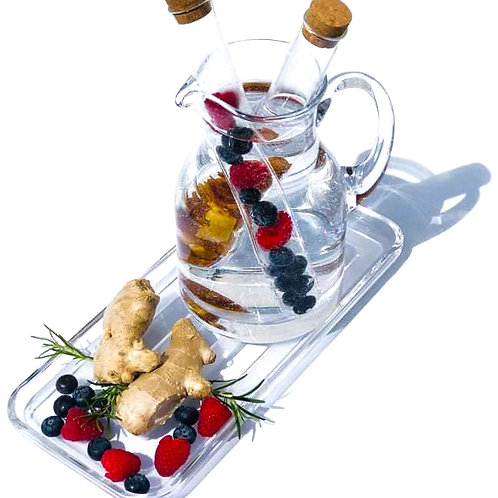 Perforated Glass Infuser Stick