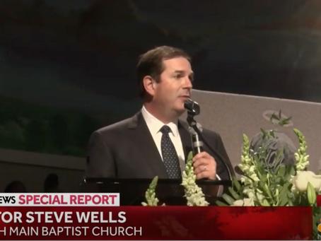 PTC Leader Steve Wells at George Floyd's Memorial Service