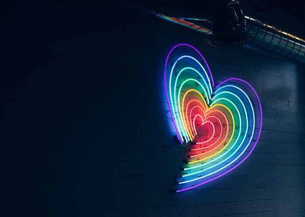 rainbow neon heart shine in the dark v1.