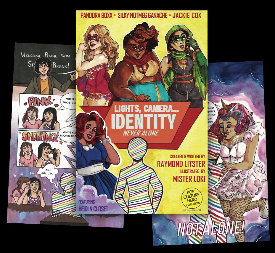 LGBTQIA IDENTITY SUPPORT