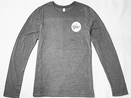 Long Sleeve Dark Heather Gray T-Shirt