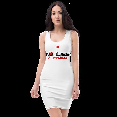 No Lies Sublimation Cut & Sew Dress