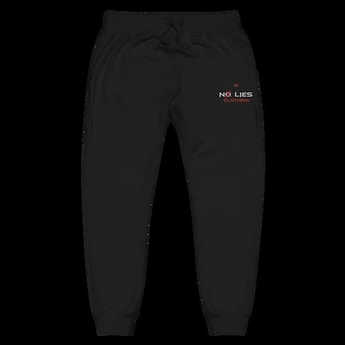No Lies Embroidered Unisex fleece sweatpants