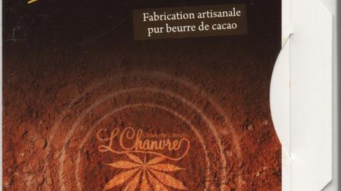 Chocolat noir au Chanvre - 4.70€ (100gr)
