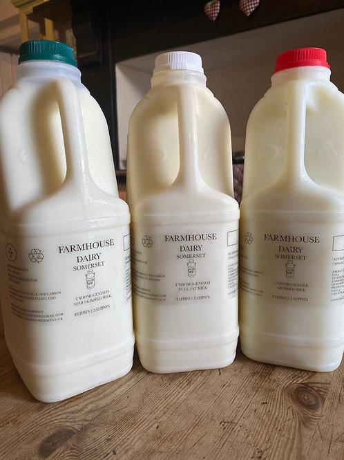 Farmhouse Dairy Somerset Milk 4 Pints