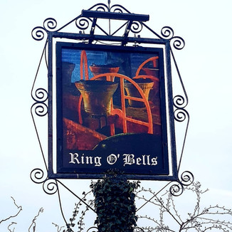 Ring O Bells Hinton Blewett Sign