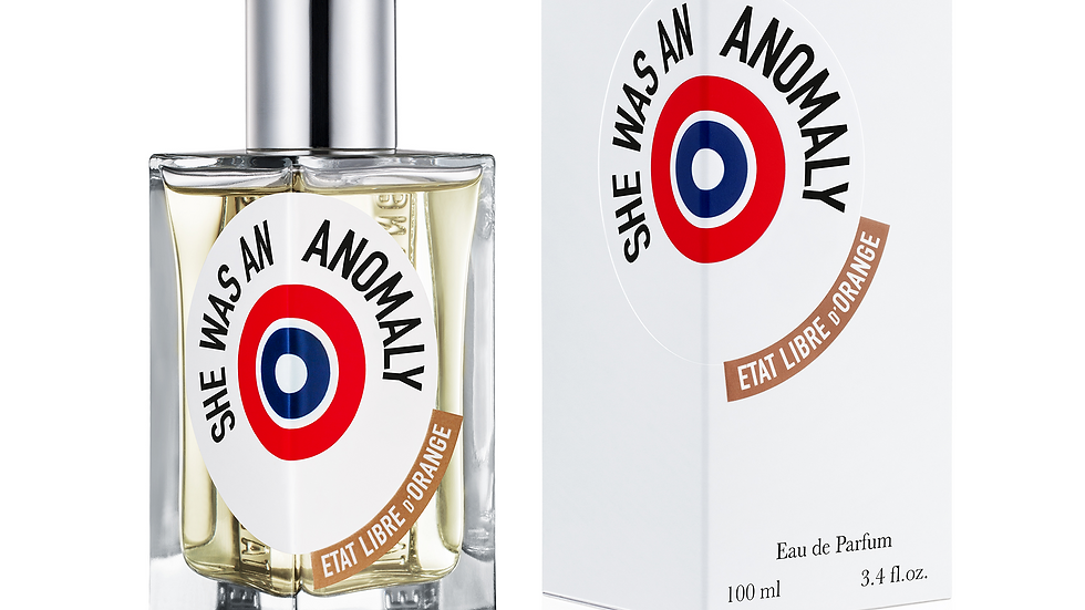 SHE WAS AN ANOMALY - 100 ml