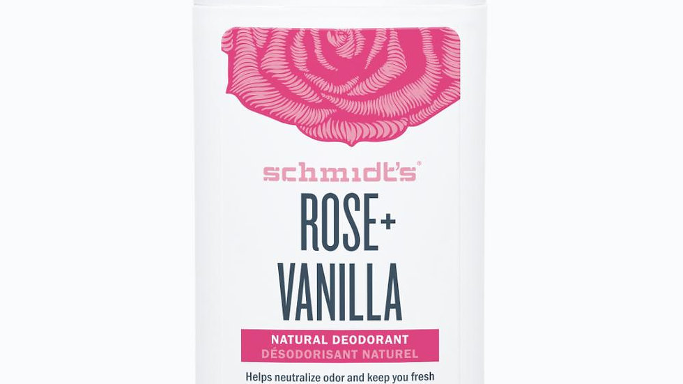 ROSE+ VANILLA - 92 gr