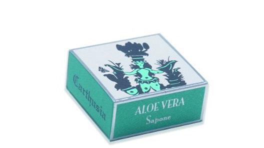 SAPONE ALLA GLICERINA ALOE - 100 gr