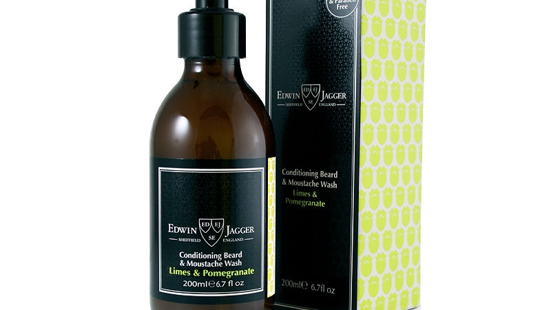 SHAMPOO PER BARBA E BAFFI LIME & POMEGRANATE - 200 ml