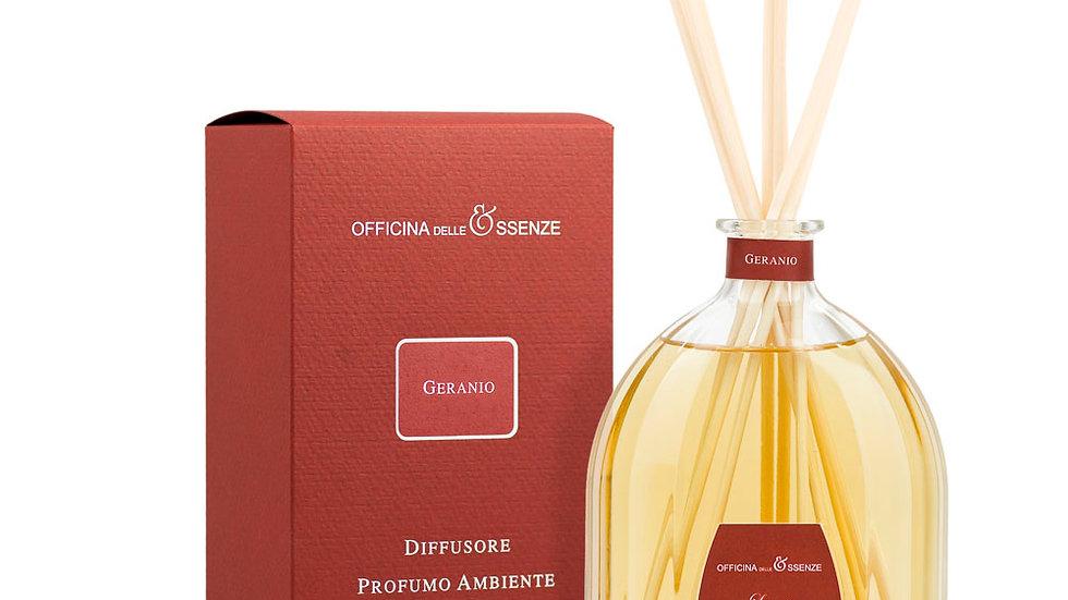 GERANIO - DIFFUSORE 250 ml