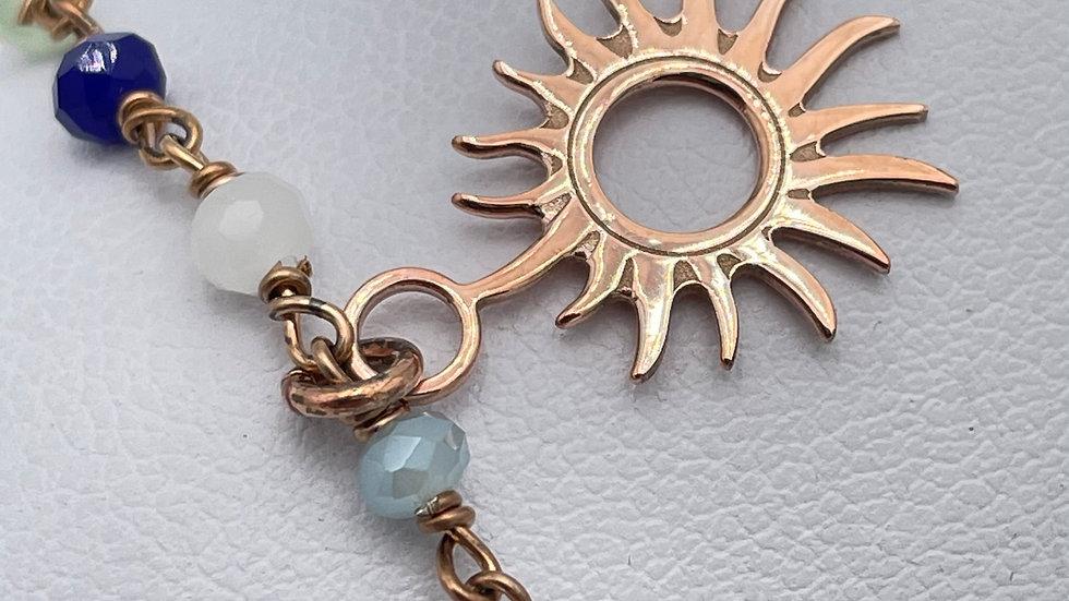 BRACCIALE BLUE SUN
