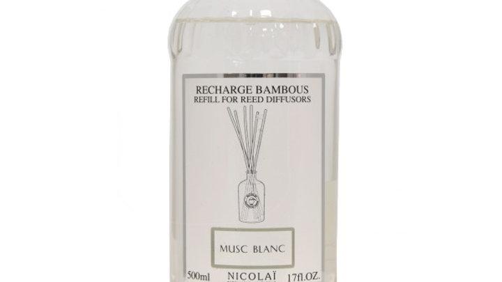 MUSC BLANC - RICARICA DIFFUSORE 500 ml
