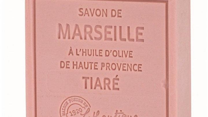 SAPONE DI MARSIGLIA ALL'OLIO DI OLIVA, TIARÈ- 100 gr