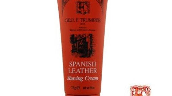 CREMA DA BARBA IN TUBO SPANISH LEATHER - 75 gr