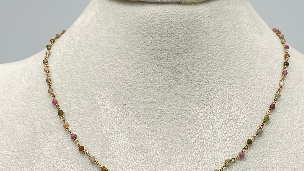 COLLIER JAIPUR TOURMALINE