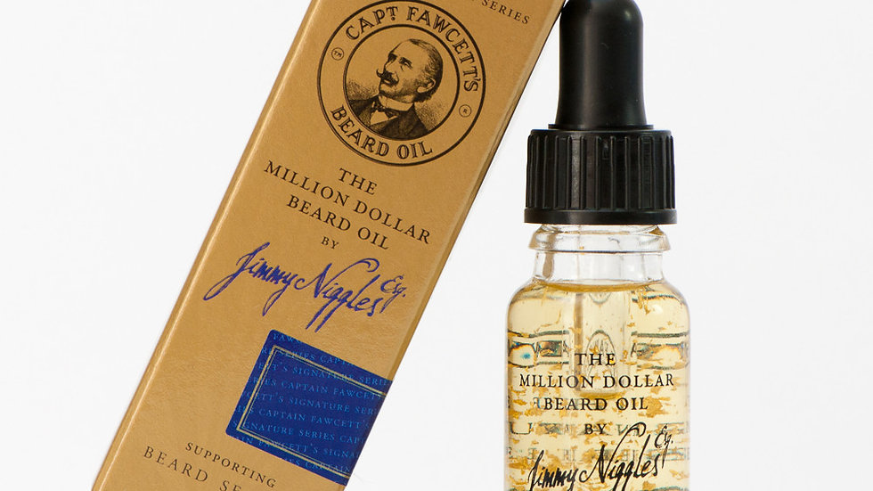 OLIO DA BARBA JIMMY NIGGLES-  MILLION DOLLAR - 50 ml
