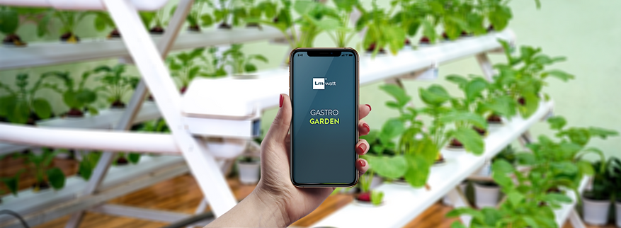 vertical farming system and app control