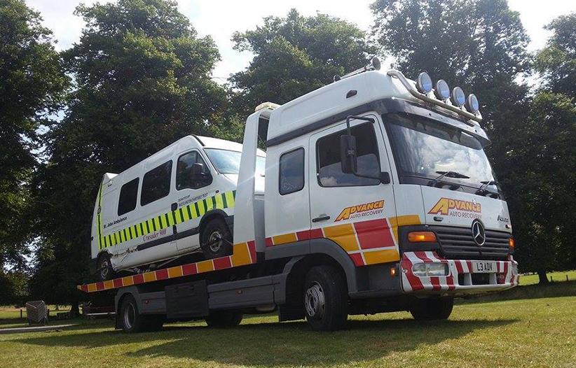 Van or Caravan Recovery