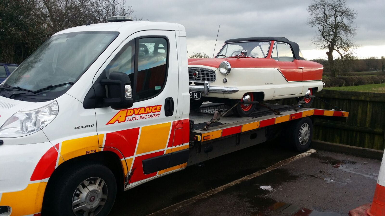 Vintage Car Recovery