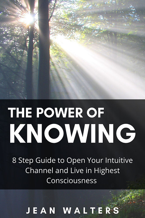 The Power of Knowing by Jean Walters