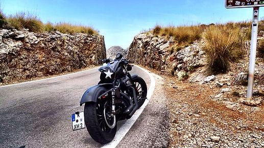 Tramuntana, motorrad mallorca, mallorca motorrad urlaub, harley davidson mallorca, travel motorbike