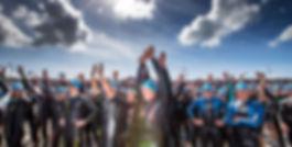 csm_Islandman-Norderney-Schwimmenstart, Triathlon Norderney, Triathlon Absperrung, Verkehrssicherung,