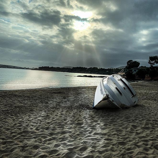 beachhouse-beachboat.jpg, beachhouse, mallorca-beachhouse, finca, mallorca urlaub, finca urlaub mallorca, beachhouse strand