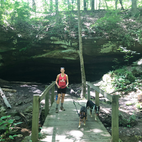 Deer Lick Cave Loop Trail -Cleveland Hike