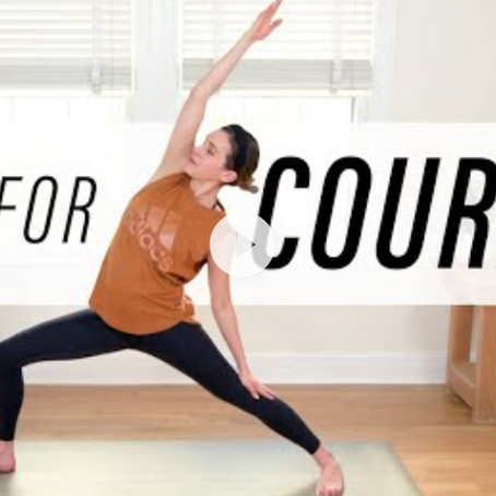 Yoga For Courage