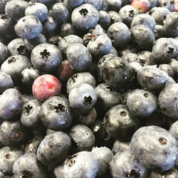 Yay for blueberries!